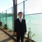 上仲原テニスコートの改修でオムニコート化を実現